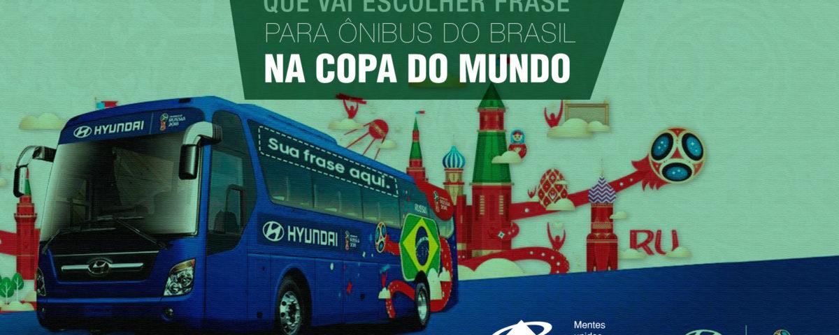 Hyundai Promove Concurso Que Vai Escolher Frase Para ônibus Do